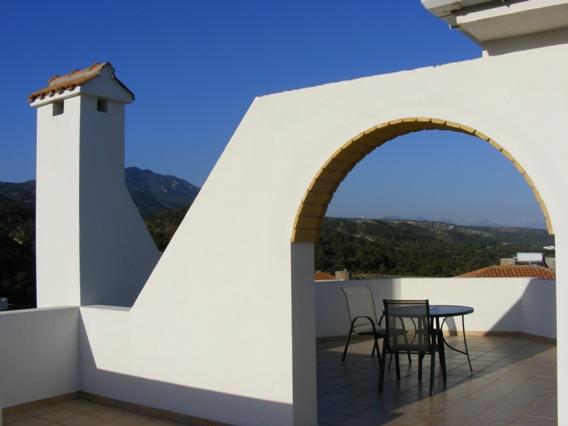 1st floor terrace for 1 the terrace